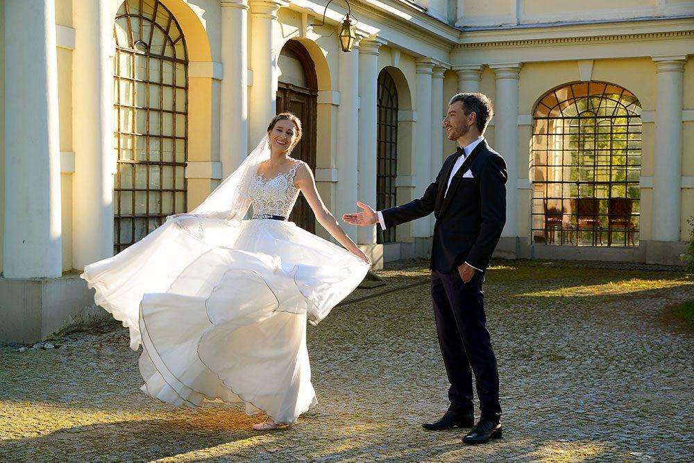 Plener ślubny Joanna i Przemysław